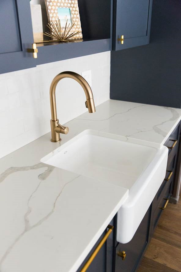 Quartz Calacatta Classique Countertops Salt Lake West